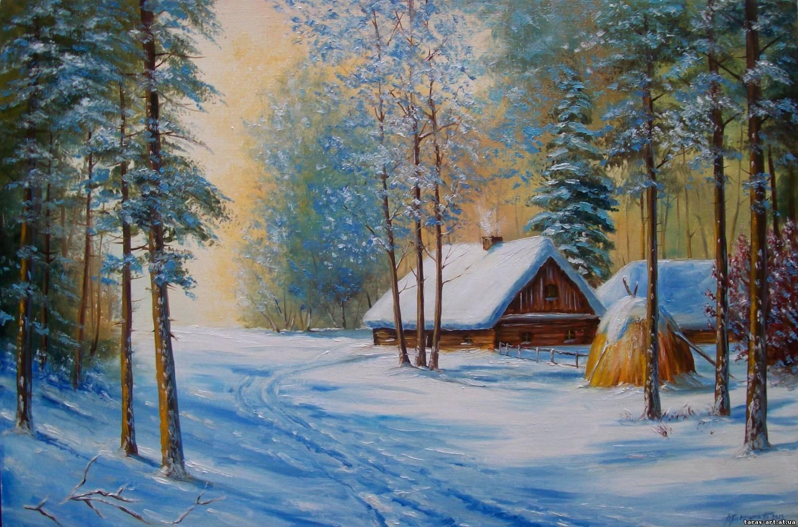 Красивые рисунки художников русских